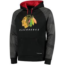men u0027s chicago blackhawks majestic black penalty shot therma base
