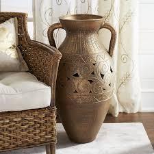 living room modern living room vase with light polished medium