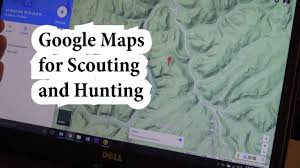 Hunting Gps Maps How To Use Google Maps For Scouting And Hunting Youtube