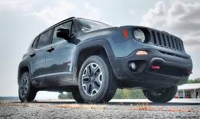 jeep renegade trailhawk blue 2016 jeep renegade trailhawk road test review by lyndon johnson