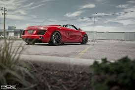 Audi R8 Spyder - featured fitment audi r8 spyder with pur rs05 wheels