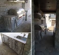 rustic outdoor kitchen design beckallen cabinetry idolza
