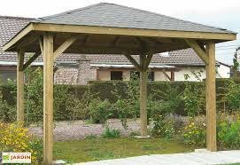 tonnelle de jardin en bois tonnelle en bois mon aménagement jardin