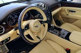 bentley bentayga 2016 interior 2017 bentley bentayga w12 signature stock 7nc014376 for sale