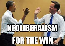 Obama Bill Clinton Meme - defending neoliberalism from the extremes of left and right