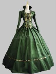 vire costumes historical renaissance period elizabeth inspired dress