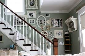 Stairwell Decor Idea Inspiration For A Shabby Chic Style Staircase