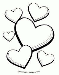 free printable heart coloring pages az coloring coloring