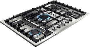 Outdoor Gas Cooktops Bosch Ngm8055uc 31 Inch Gas Cooktop With Continuous Grates Led