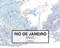 Map Of Rio De Janeiro Rio De Janeiro Dwg Mapacad