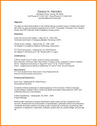 Resume For Ca Articleship Training Training Assistant Resume Resume Examples Of Medical Assistant