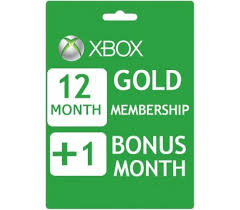 xbox live gift card xbox live 12 months plus 1 gift card email delivery