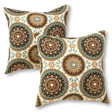 home fashions 2 pk square outdoor decorative pillows