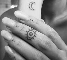 15 eye tattoos on finger
