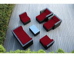 Cushions For Wicker Patio Furniture by Genuine Ohana 9 Piece Outdoor Wicker Patio Furniture Sectional