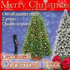 second marketplace tree no 3 winter decoration