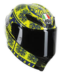 valentino rossi motocross helmet 604 65 agv ltd edition valentino rossi corsa winter 250156