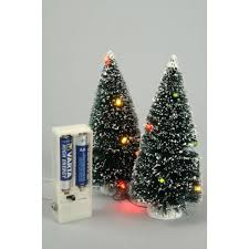 magnificent ideas small lighted trees pair of 10 led