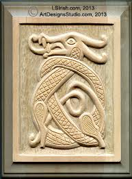 v gouge detailing in a relief wood carving instructions wood