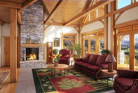 greatroom golden eagle log and timber homes exposed beam timber frame