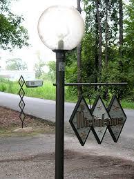 Mid Century Modern Outdoor Light Fixtures Diy Midcentury Modern Mailbox Post And Address Sign Gabe