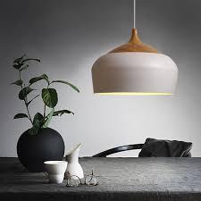Wohnzimmer Lampe Holz Led Holz Pendelleuchte Industrie Lampenschirme Pendelleuchten