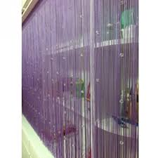 new romantic decorative string curtain with beads tassel door