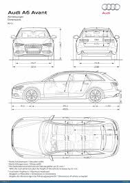 dimension audi a6 ausmotive com audi a6 avant photo gallery