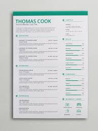 Creative Resume Sample by Green Creative Resume Template