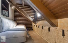 bedroom attic bedroom decorating ideas with twin bed and wooden