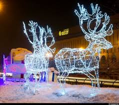 new year decorations of kazakhstan cities kazakhstan travel and