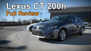 lexus full size sedan review 2015 lexus ct 200h u0026 f sport full review youtube