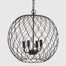 bronze globe farmhouse chandelier world market