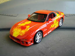 mazda rx7 fast and furious voiture miniature fast and furious voiture miniature com
