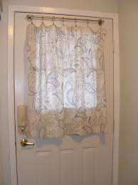 Front Door Windows Inspiration Front Door Curtains All Paint Ideas