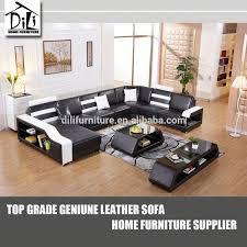 u shaped sofa black leather u shaped sofa okaycreations net