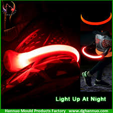 night runner shoe lights rechargeable new arrival runners led shoe clip bike cycling sports