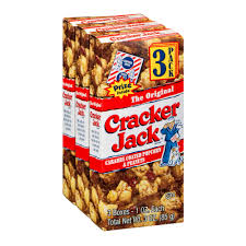 personalized cracker jacks cracker caramel coated popcorn peanut boxes 3 pk 3 0 ct