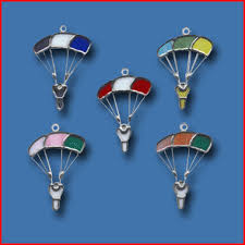parachute ornament for skydivers