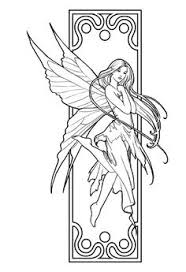 fairy coloring pages adults bing images coloring pages