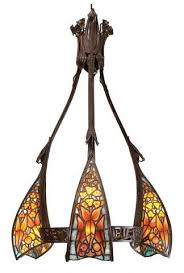 Art Nouveau Chandelier Art Nouveau Chandelier By Jacques Gruber By Louis Majorelle By
