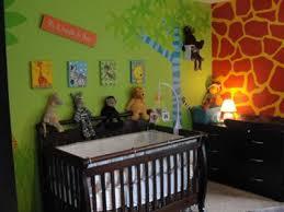 colorful jungle theme nursery