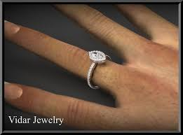 marquise diamond engagement ring unique marquise diamond halo engagement ring vidar jewelry