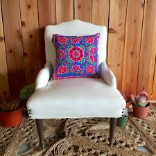 Hippie Home Decor by Hmong Floral Pillow Cases Modern Day Hippie