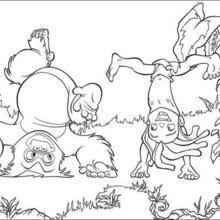 jungle book 60 coloring pages hellokids