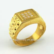 rings design for men gold ring design for men with white cz buy gold ring