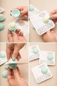 bridal luncheon favors you to see these diy eos lip balm favors eos lip balm