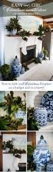 5 minute easy christmas mantel decor celebrating everyday life