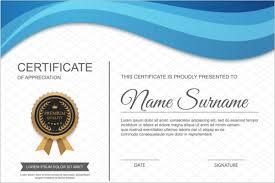 blank certificate templates free u0026 premium creative template
