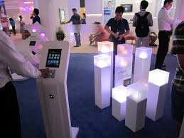 photo booth lighting smart lighting takes center stage again at gile 2014 ledinside